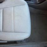 Предна седалка -изпрана